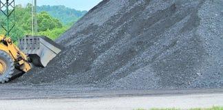 Armazenagem do carvão imagens de stock royalty free