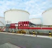 Armazenamento de óleo Fotos de Stock Royalty Free