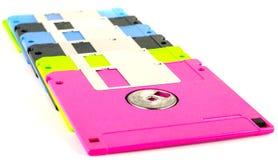 Armazenamento de dados magnético de disco flexível do computador Fotografia de Stock Royalty Free