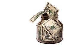 Armazenamento do dinheiro Imagens de Stock