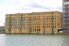 Armazém abandonado de Londres Fotos de Stock Royalty Free