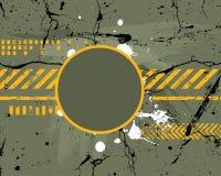 armébakgrundsmarin Arkivfoto