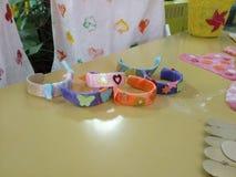 Armband för Diy isglasspinne royaltyfri bild