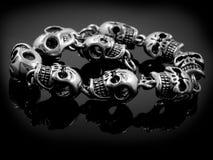 Armband för vippor och cyklister - skallar Arkivfoton