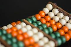 Armband från träpärlor Royaltyfri Foto