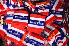 Armband i thai flaggamodell royaltyfri foto