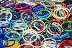 Armbanden op verkoop Stock Foto's
