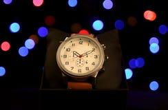 Armbandsur för klassiker för man` s Royaltyfria Foton
