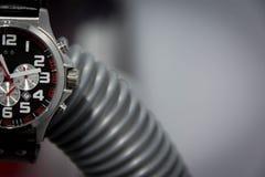 Armbandsurfokusbakgrund Arkivfoto