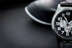 Armbandsurfokusbakgrund Fotografering för Bildbyråer