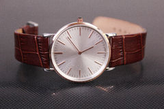 Armbanduhr der Männer lizenzfreies stockbild
