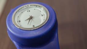Armbanduhr modern, Zeitspanne stock footage