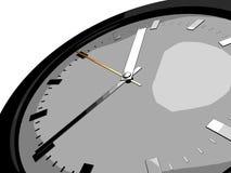 Armbanduhr- oder Borduhrgesicht Stockfoto