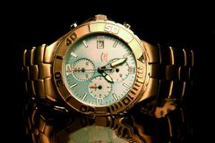 Armbanduhr-Titan der Männer Stockfotografie