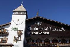 Armbrustschuetzenzelt σε Oktoberfest στο Μόναχο, Γερμανία, 2015 Στοκ Εικόνες