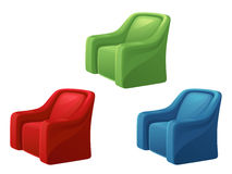 Armchair. On a white background stock illustration