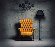 Armchair Royalty Free Stock Photo