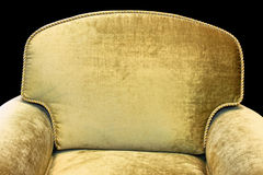 Armchair back Royalty Free Stock Photo