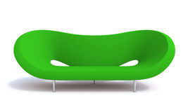 Armchair car. Armchair isolate on white background Royalty Free Stock Photography