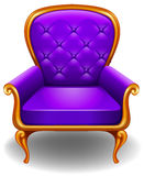 Armchair. Close up luxury design of an armchair Royalty Free Stock Photo
