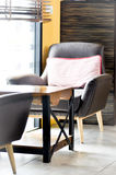 Armchair,cushion,table Stock Images