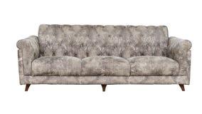 Armchair-Fabric arm chair, classical stylish armchair isolated Stock Photo