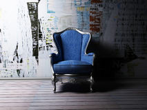 an armchair in grunge style Stock Photography
