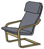 Armchair. Hand drawing of a armchair Royalty Free Stock Photos