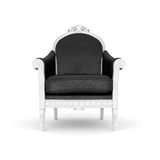 armchair leather royal Στοκ εικόνα με δικαίωμα ελεύθερης χρήσης