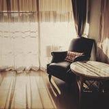 armchair leather royal Στοκ φωτογραφία με δικαίωμα ελεύθερης χρήσης