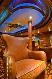 armchair leather royal Στοκ Εικόνες