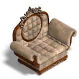 Armchair of louis xv. Stock Photography