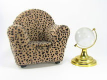 Armchair Miniature Royalty Free Stock Photography