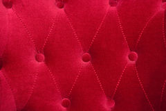 Armchair red texture Stock Image