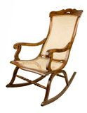 Armchair-rocking chair Stock Photo