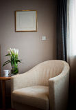 Armchair in the room for rest Stock Images