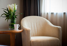 Armchair in the room for rest Stock Photo