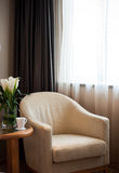 Armchair in the room for rest Royalty Free Stock Photo
