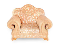 Armchair sofa isolated on white background stock images