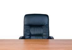 Armchair and table Stock Image
