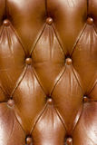 Armchair texture. Armchair leather cover texture can be used as a background Royalty Free Stock Images