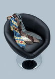 Armchair and tie. Royalty Free Stock Photo