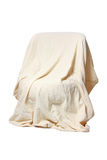 An armchair under the cover Royalty Free Stock Photo