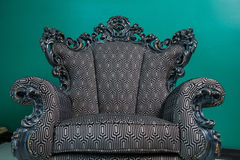 Armchair vintage Royalty Free Stock Images