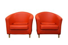 Armchairs Stock Images