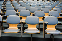 Armchairs in room from front. Armchairs in room can use for education or work from front Stock Photography