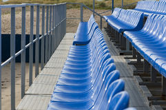 Armchairs at stadium Royalty Free Stock Photos