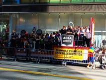 Armeńska dzień parada w Miasto Nowy Jork zdjęcia royalty free