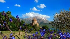 Armeńska katedra Święty krzyż Fotografia Royalty Free