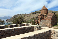 Armeńska katedra w Van Miasto, Turcja Obraz Stock